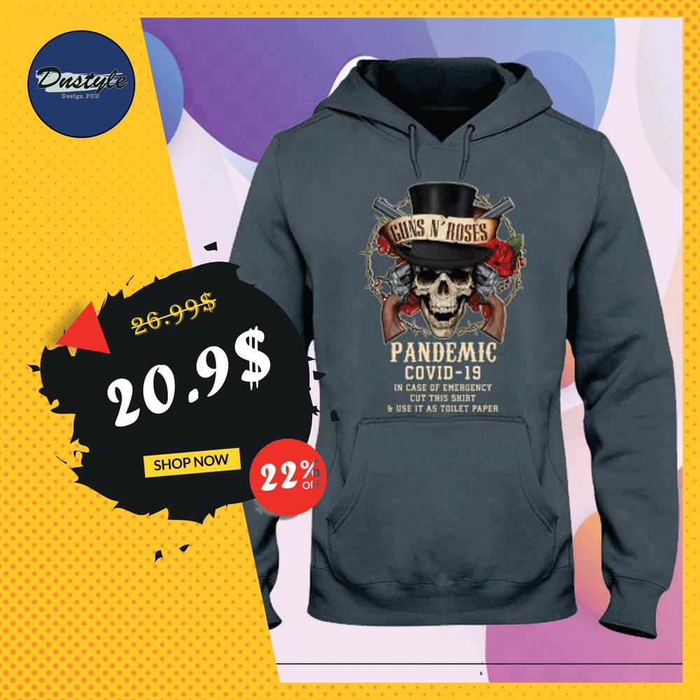 Guns N' Roses pandemic covid-19 hoodie