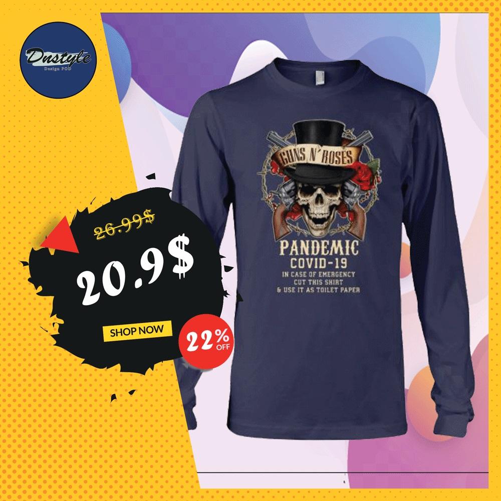 Guns N' Roses pandemic covid-19 long sleeved