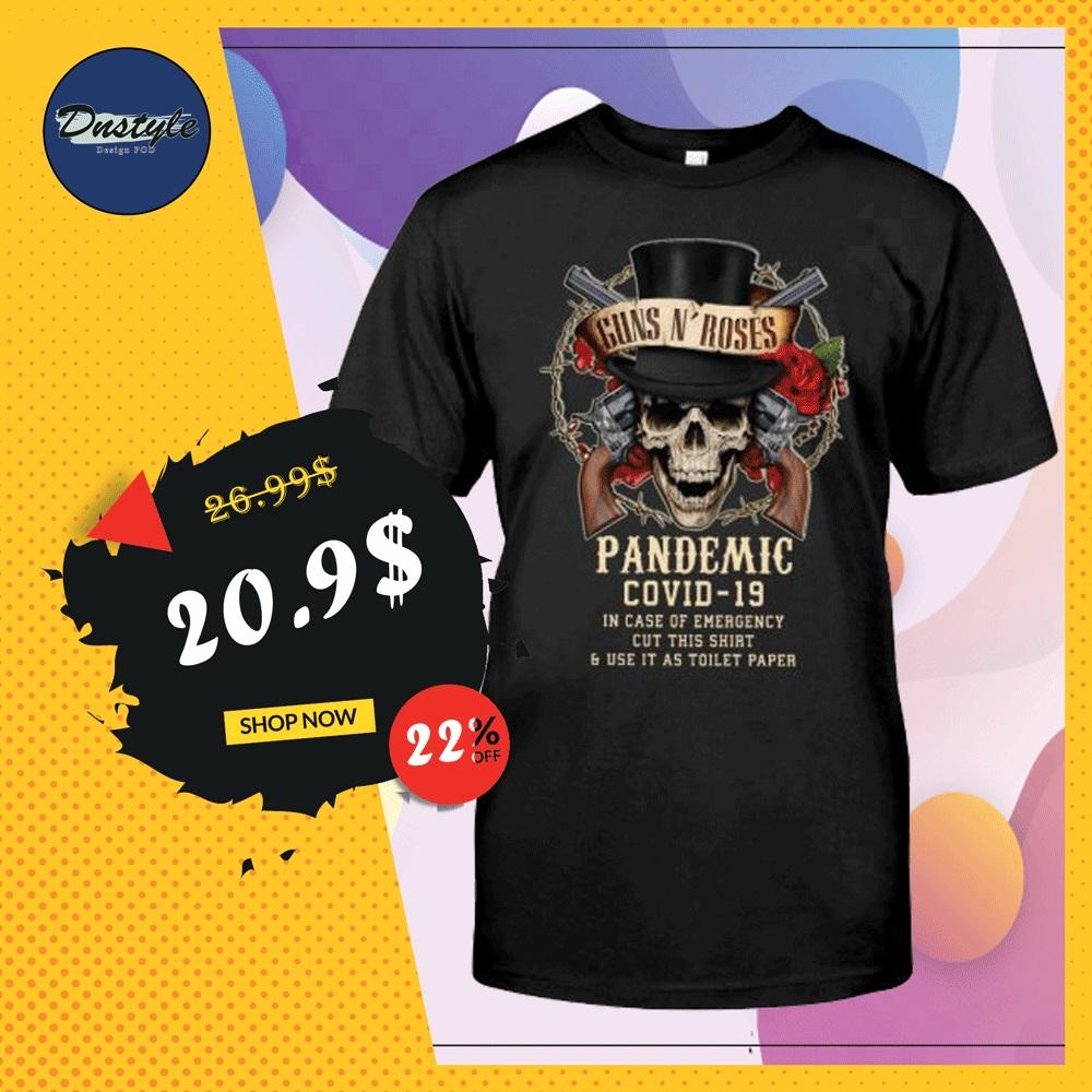 Guns N' Roses pandemic covid-19 shirt
