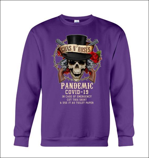 Guns N' Roses pandemic covid-19 sweater