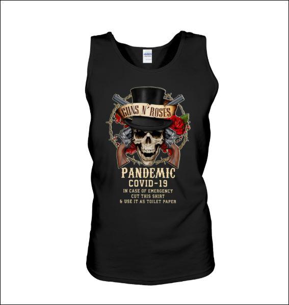 Guns N' Roses pandemic covid-19 tank top