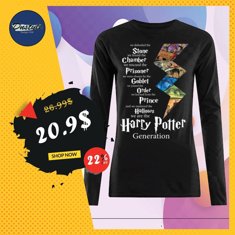 Harry Potter generation long sleeved