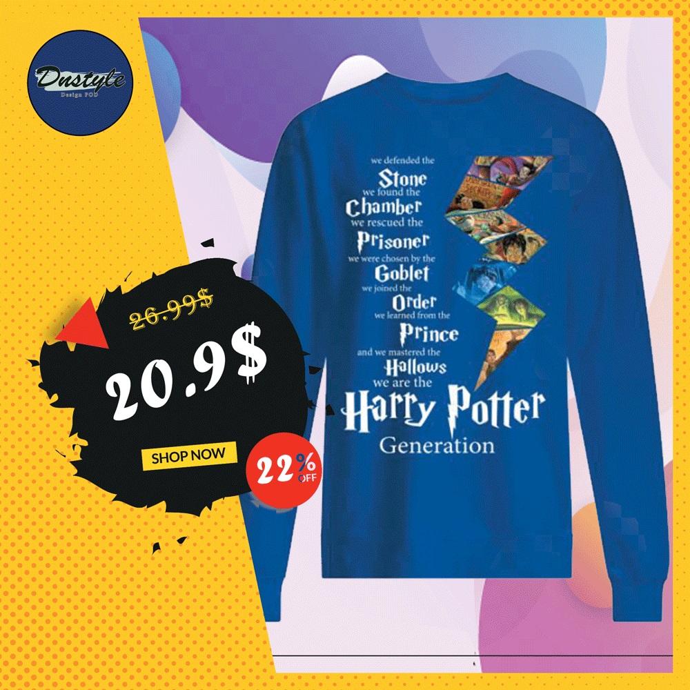 Harry Potter generation sweater