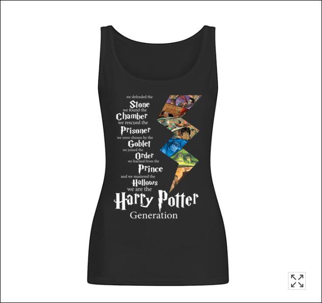 Harry Potter generation tank top