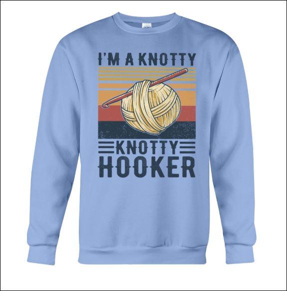 I'm a knotty knotty hooker sweater