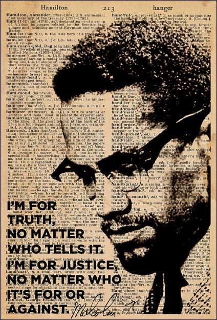 I'm for truth no matter who tells it i'm for justice poster