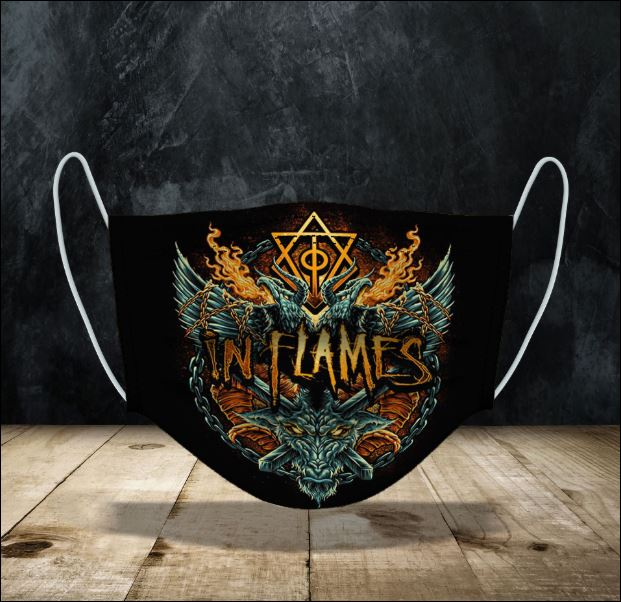 In Flames face mask