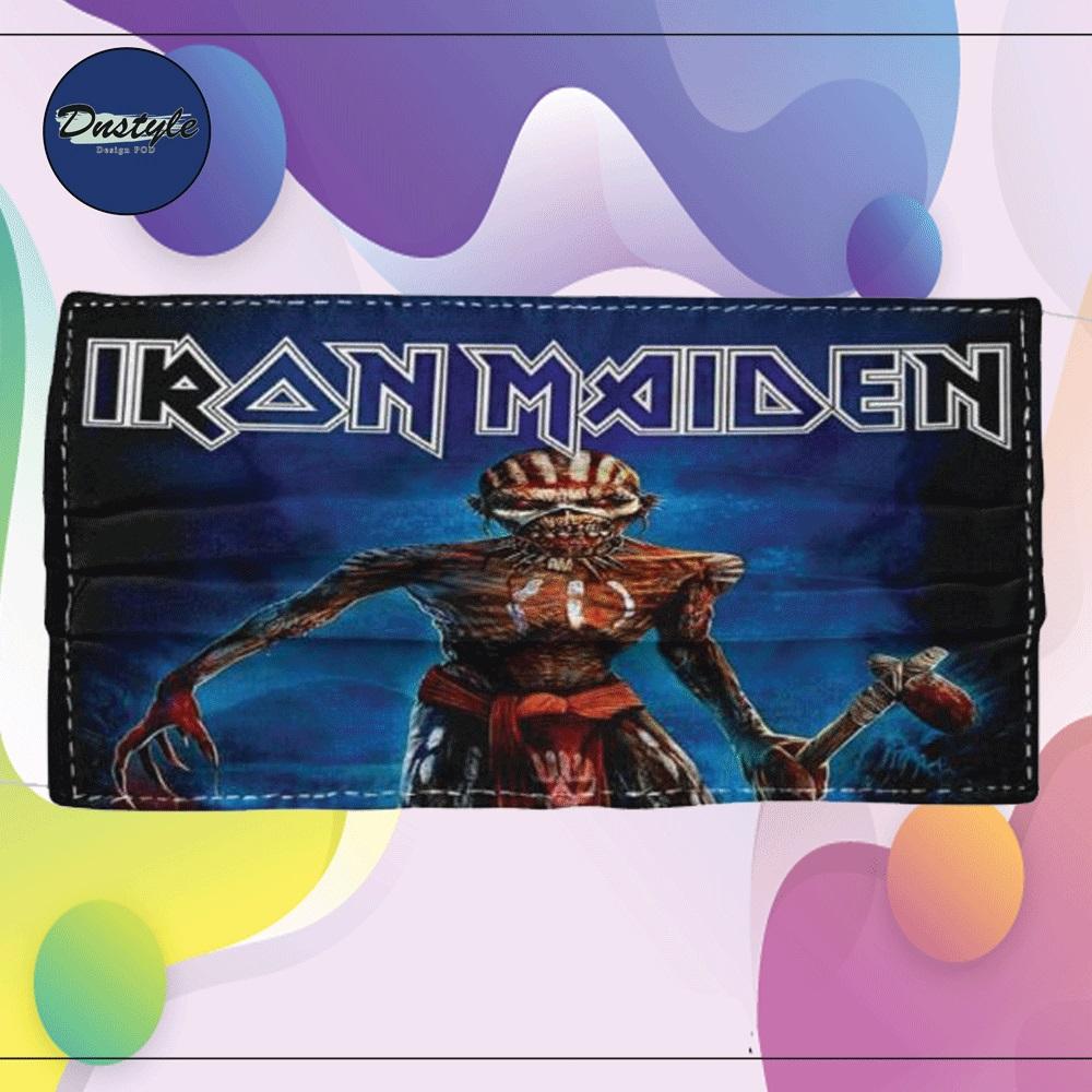 Iron Maiden cloth face mask