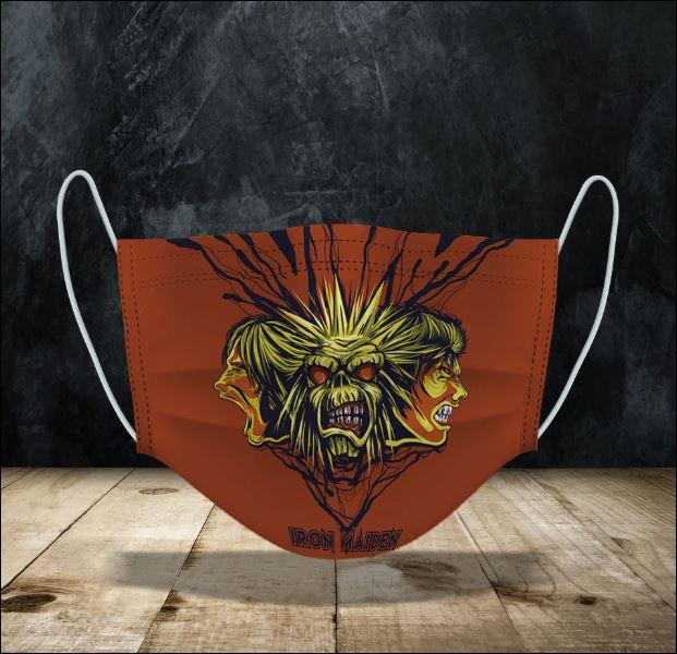 Iron Maiden face mask