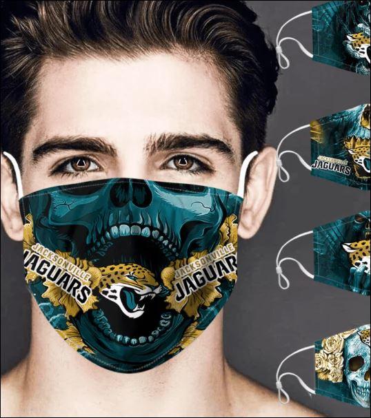 Jacksonville Jaguars skull face mask