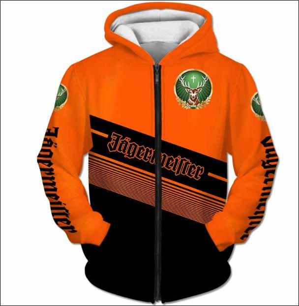 Jagermeister 3D zip hoodie