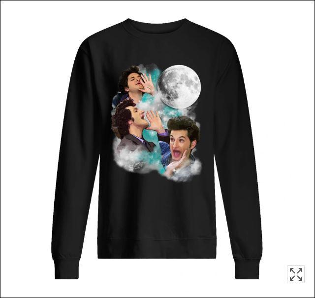 Jean Ralphio and moon sweater