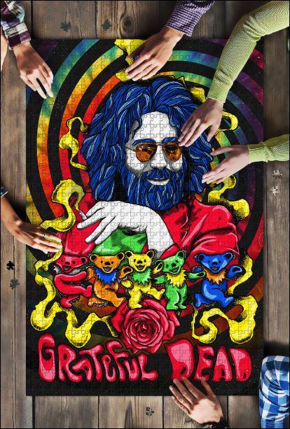 Jerry Garcia – Grateful Dead Jigsaw Puzzle