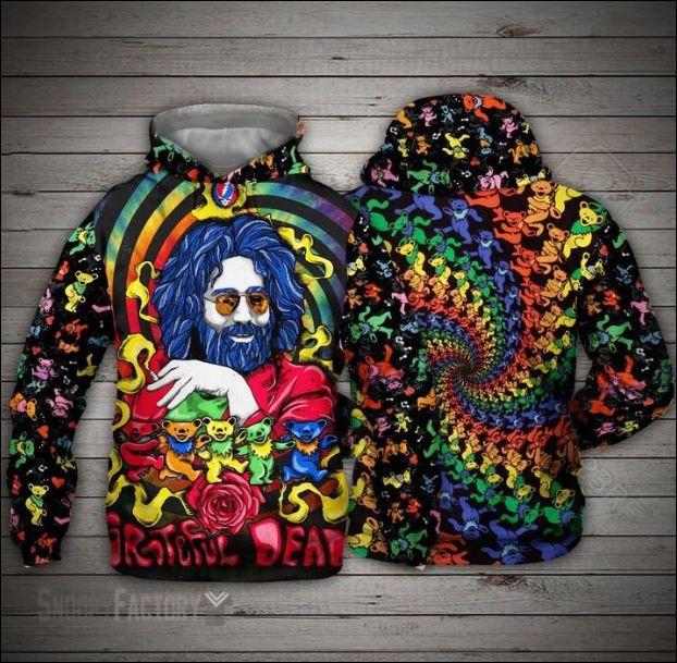 Jerry Garcia Grateful Dead 3D hoodie