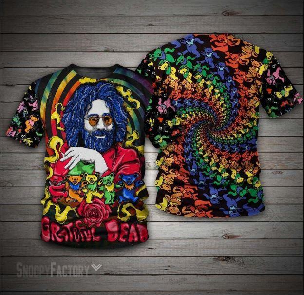 Jerry Garcia Grateful Dead 3D shirt