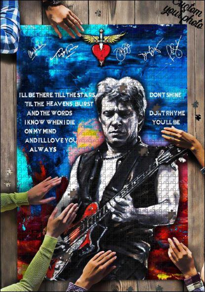 Jon Bon Jovi Jigsaw Puzzle