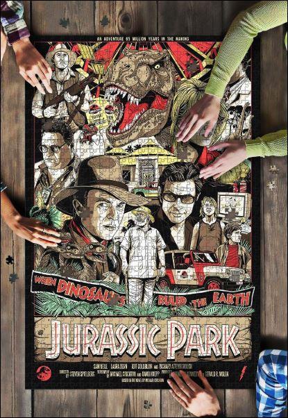 Jurassic Park Jigsaw Puzzle