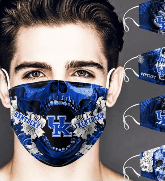 Kentucky Wildcats skull face mask