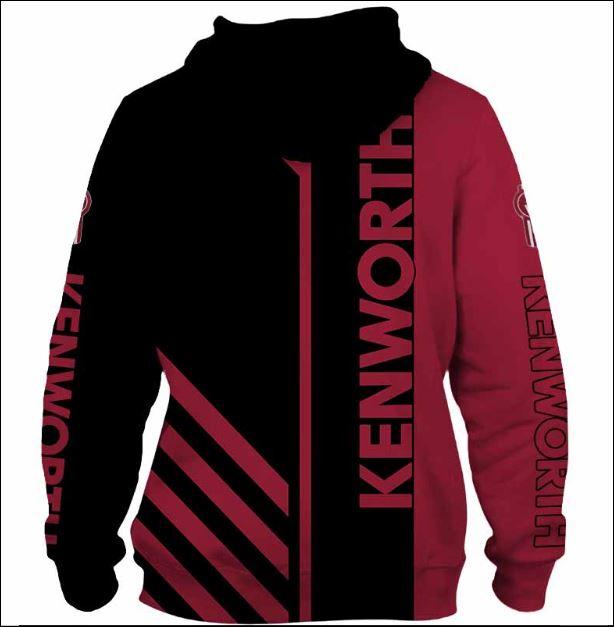 Kenworth 3D hoodie back