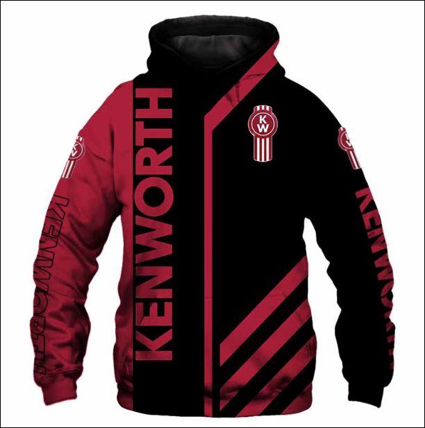 Kenworth 3D hoodie
