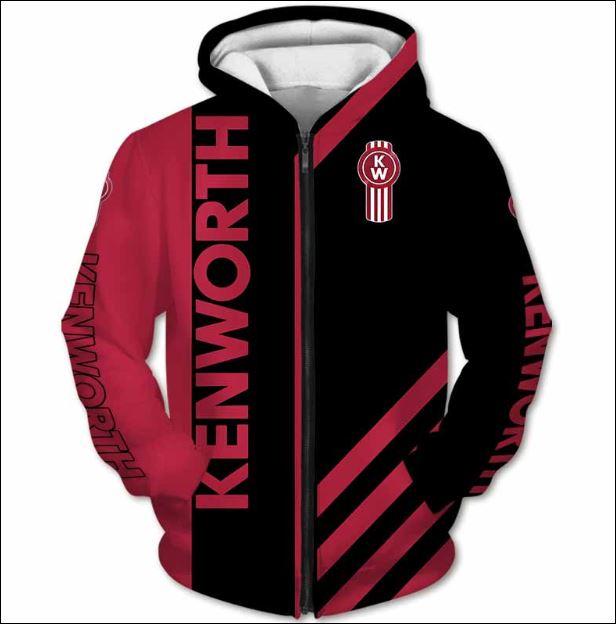 Kenworth 3D zip hoodie