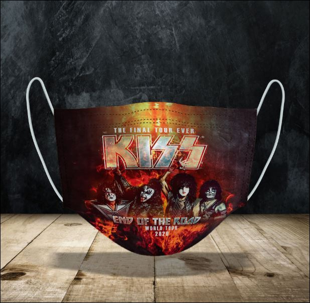 Kiss End of the Road World Tour face mask