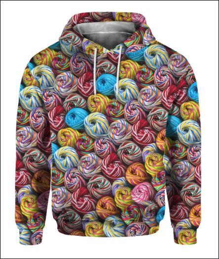 Knit 3D hoodie