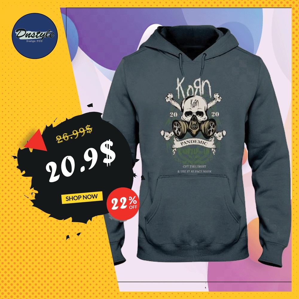 Korn pandemic covid 19 hoodie