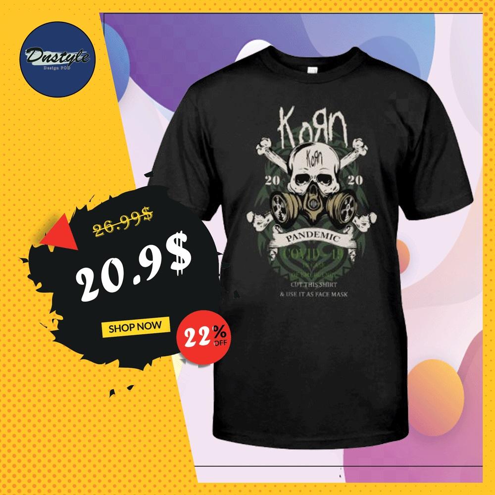 Korn pandemic covid 19 shirt