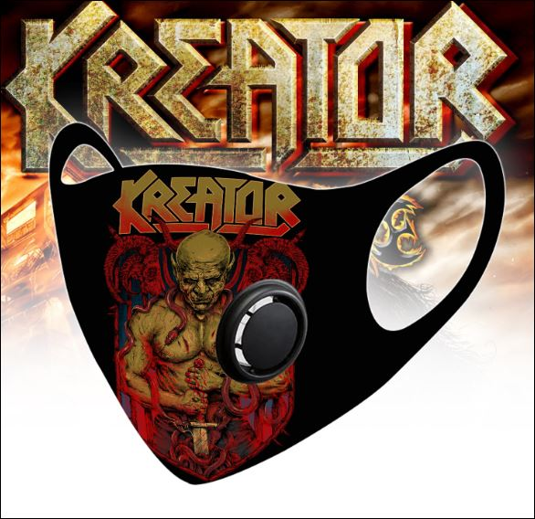 Kreator filter activated carbon face mask