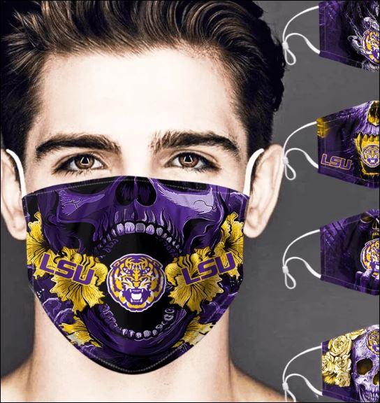 LSU Tigers skull face mask