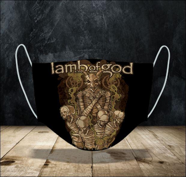 Lamb of God face mask
