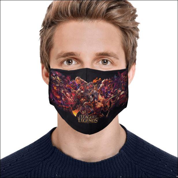 League Of Legends face mask