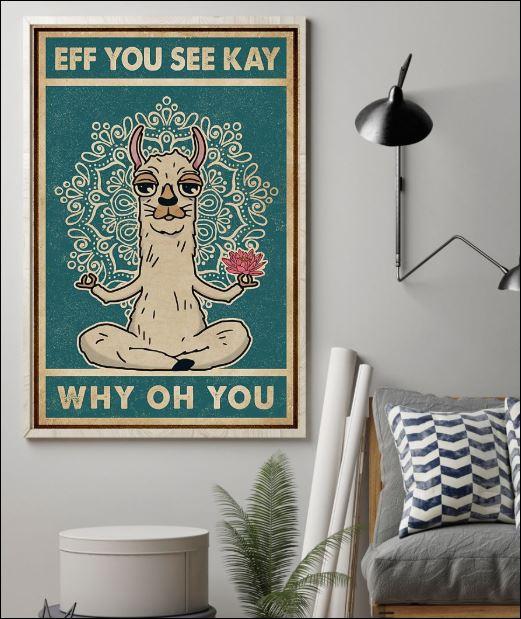 Llama eff you see kay why oh you poster 1