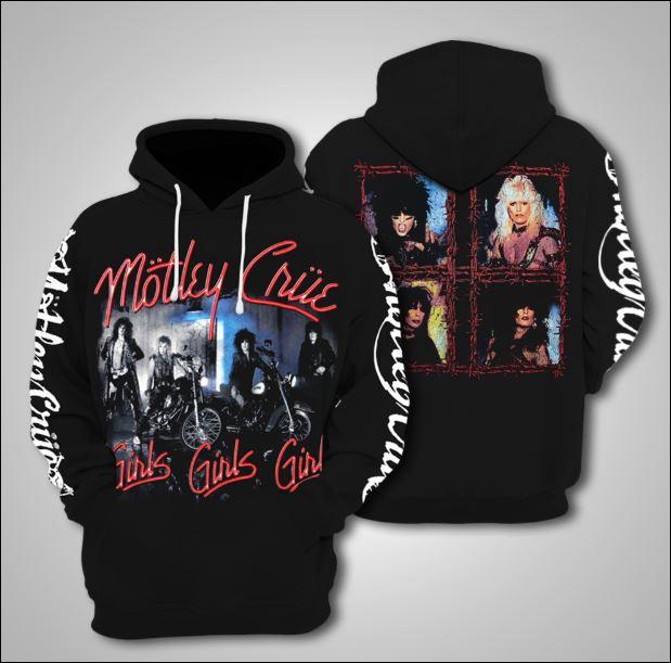 Mötley Crüe 3D hoodie