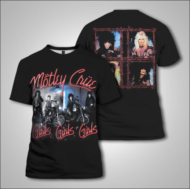 Mötley Crüe 3D shirt