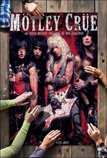 Mötley Crüe Jigsaw Puzzle