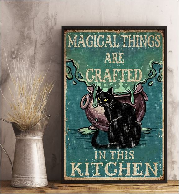 Magical thing are grafted in this kitchen poster 2