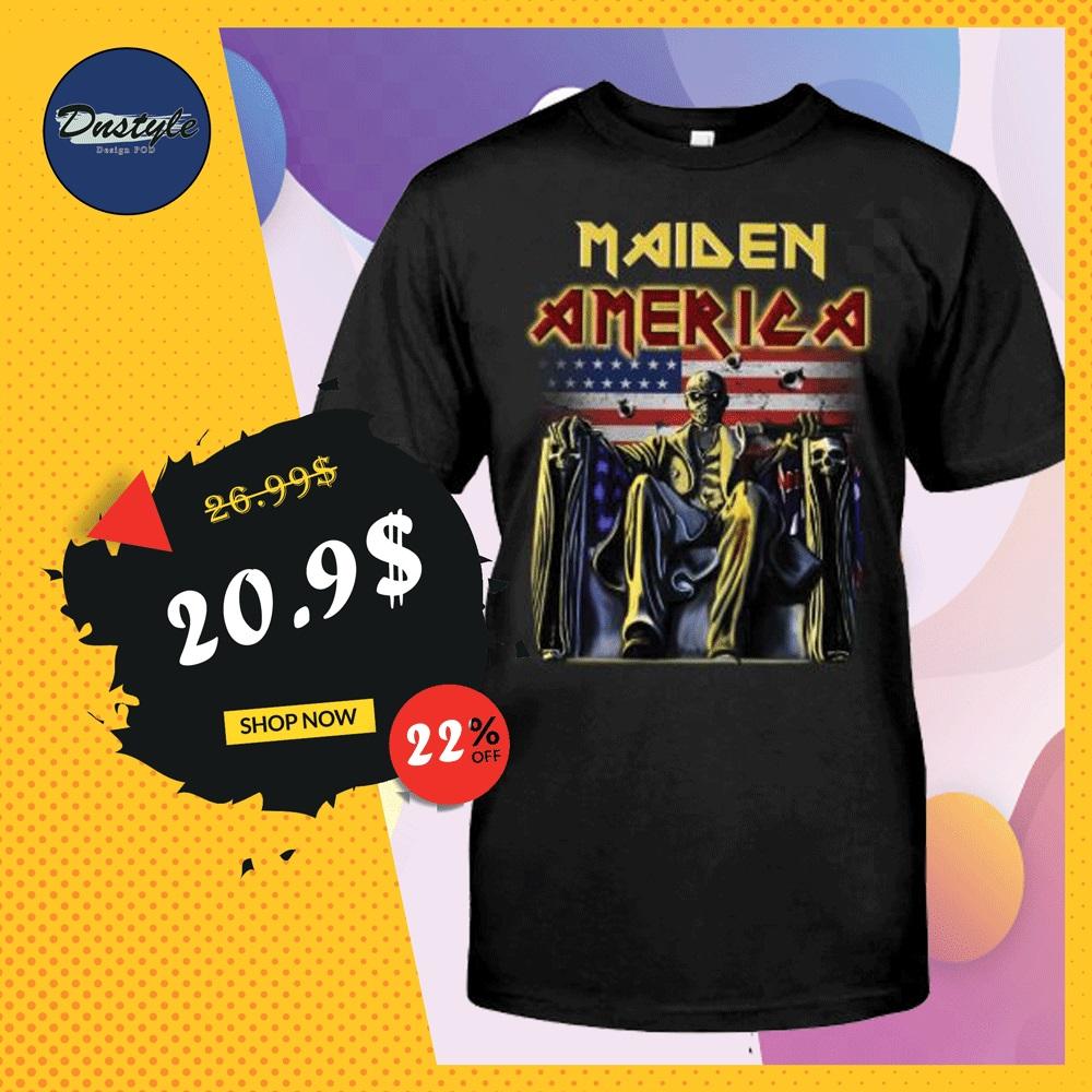Maiden America shirt