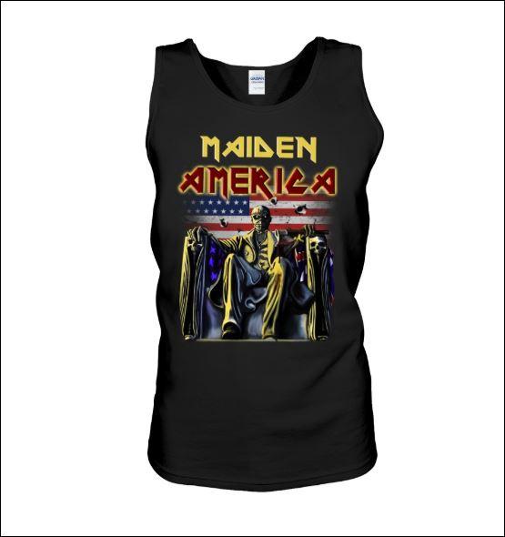 Maiden America tank top