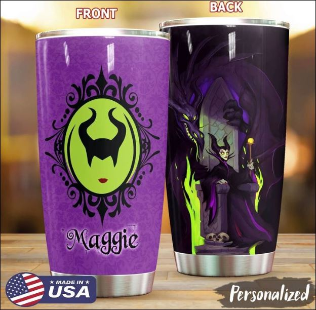 Maleficent maggie tumbler