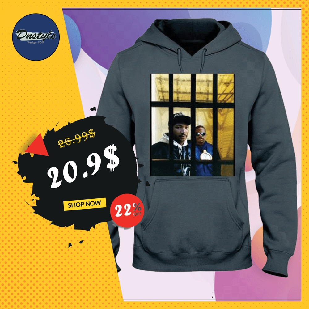 Martin And Malcolm hoodie