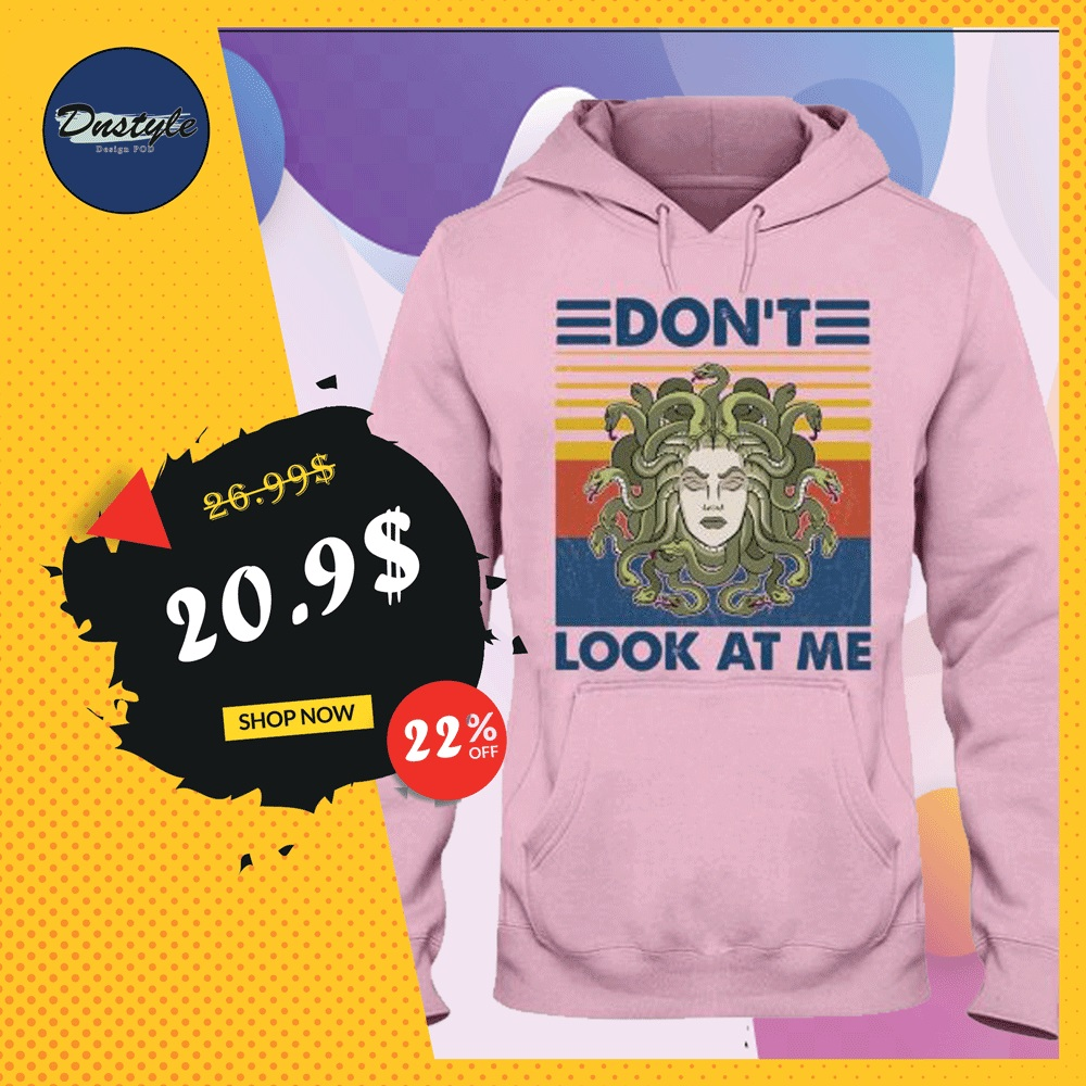 Medusa don't look at me vintage hoodie