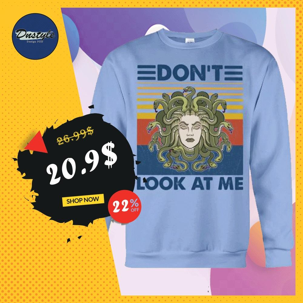 Medusa don't look at me vintage sweater