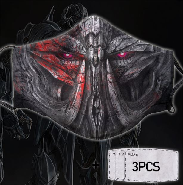 Megatron face mask