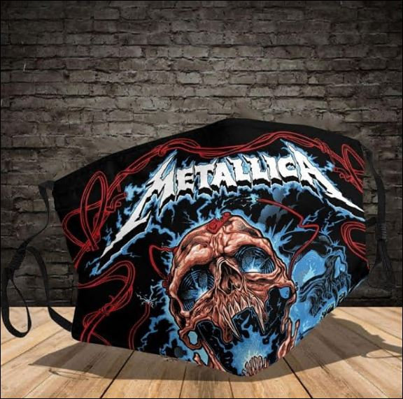 Metallica face mask