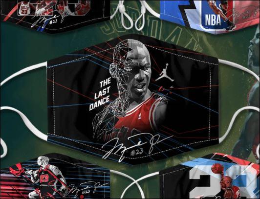 Michael Jordan The Last Dane face mask