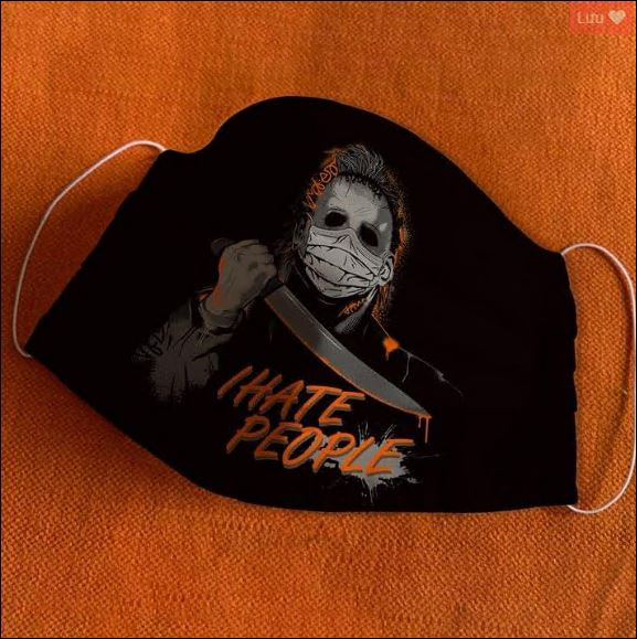 Michael Myers i hate people face mask