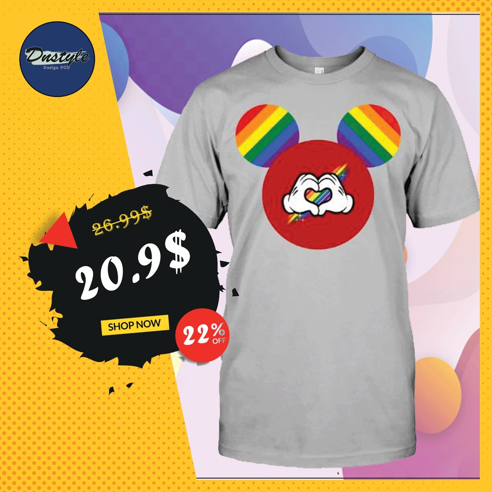 Mickey mouse LGBT shirt