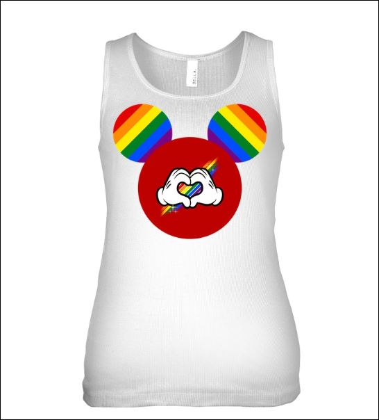 Mickey mouse LGBT tank top